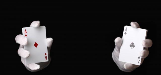 L'étiquette au Blackjack.