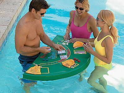 Le Blackjack dans votre piscine !