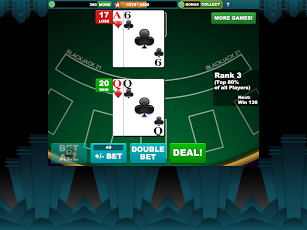 L'application Real Black Jack 21