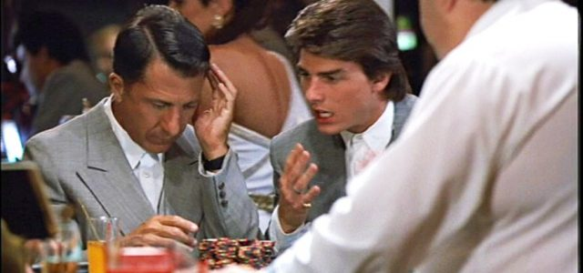 Le film Rain Man et le blackjack