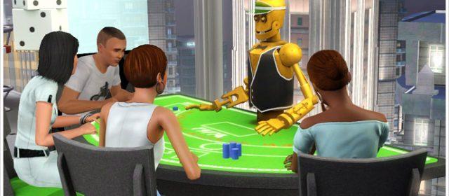 Achetez-vous une table de blackjack avec des Simflouz !