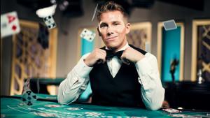 live casino - croupier