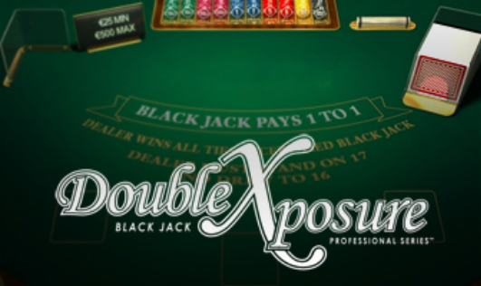 Le Blackjack Double Exposure