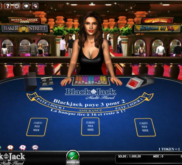 Le blackjack multi-hand